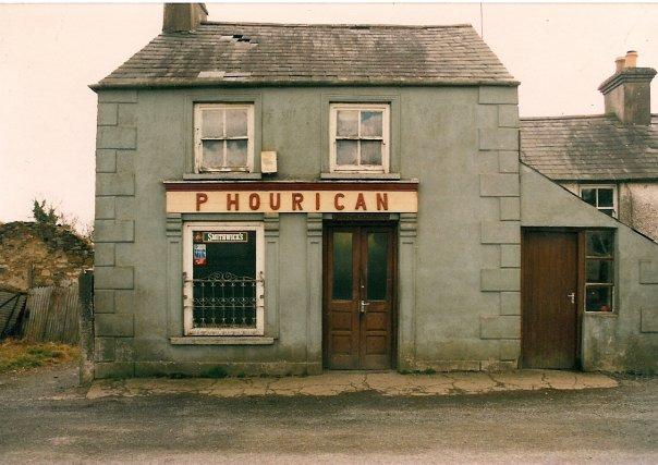 Home of Phil Hourican, its one of the Hourican homesteads, though not the one featured in the verse.